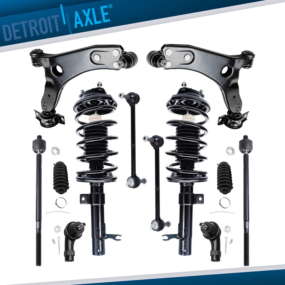 Front Strut    Front Lower Control Arm For 2000 2001 2002 2003 2004 Ford Focus