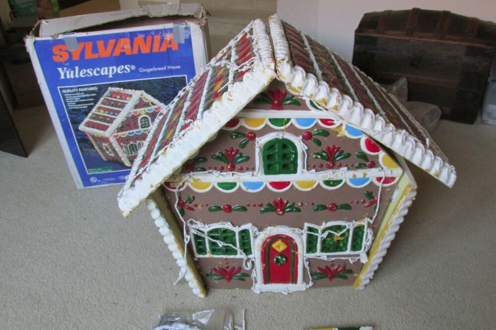 Sylvania Yulescapes 36 Quot Gingerbread House Christmas