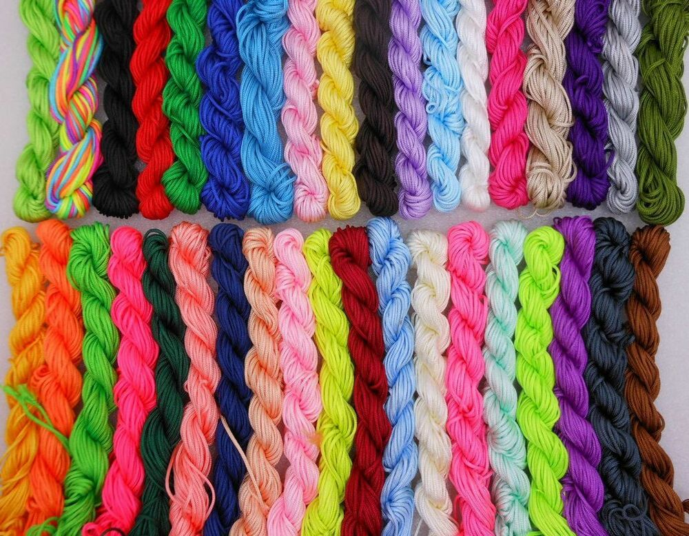 bulk macrame cord wholesale macrame 1 5mm cord for braided rattail 7589