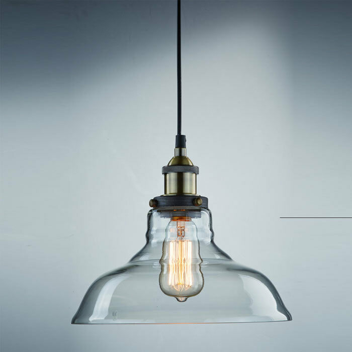 Industrial pendant ceiling lamp lighting chandelier edison for Industrial bulb pendant