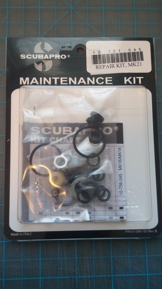 scubapro maintenance repair kit mk21 ebay. Black Bedroom Furniture Sets. Home Design Ideas