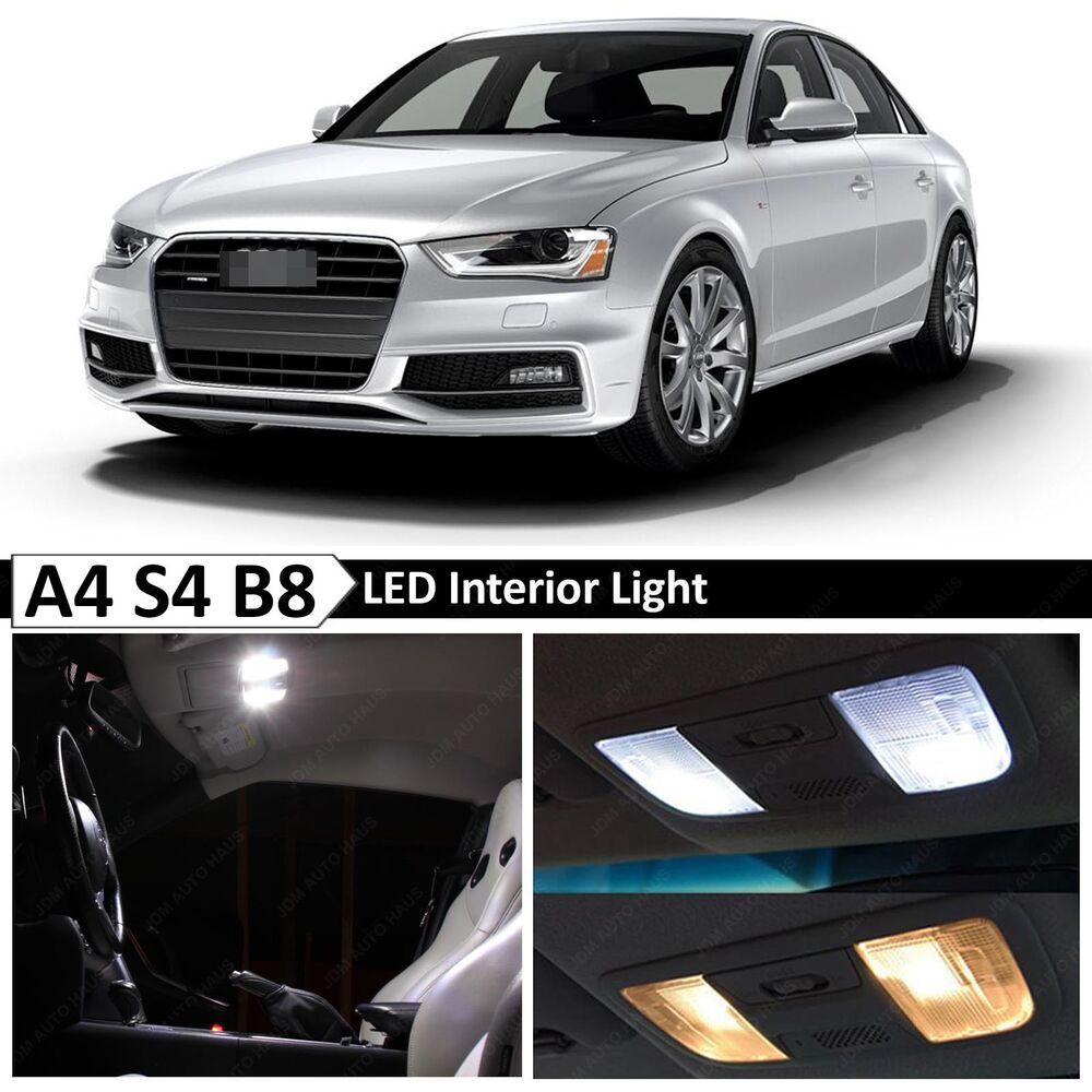 18x White Interior LED Lights Package Kit For 2009-2015