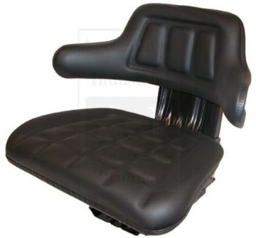 A For 555a Backhoe Seat : W bl universal tractor seat black for ford