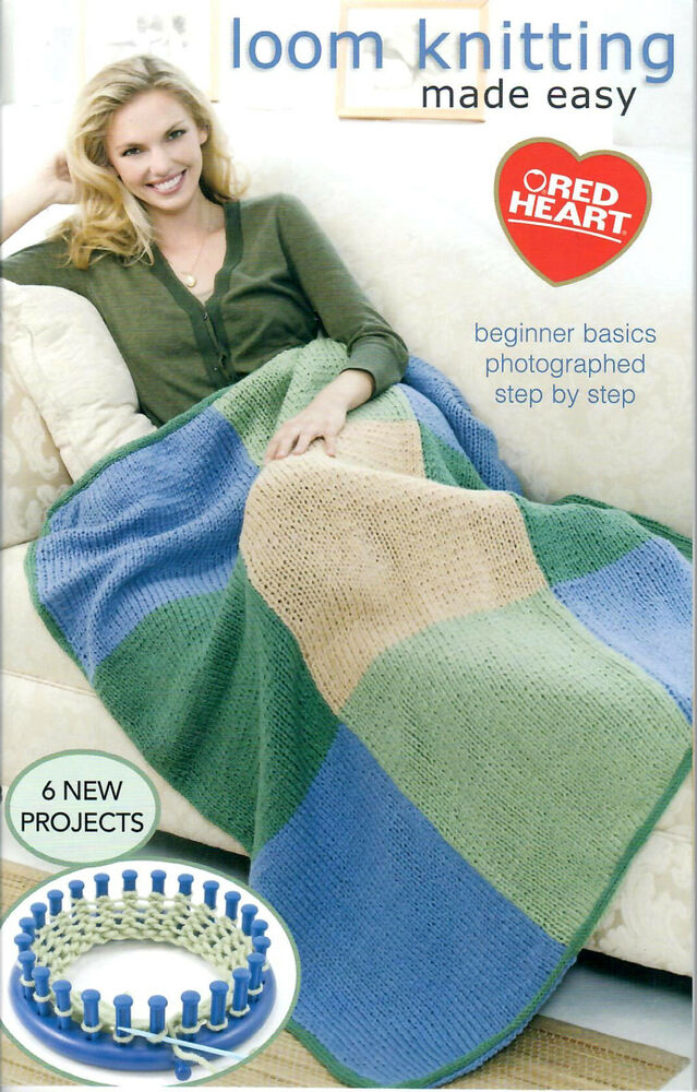Easy Round Loom Knitting Ideas : Loom pattern booklet round knitting made easy
