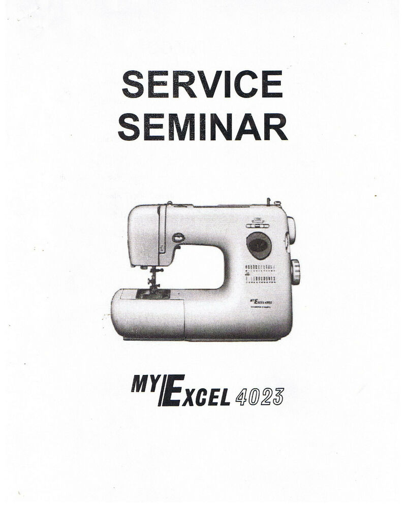 Janome new home my excel 4023 sewing machine service guide for Decor excel 5018