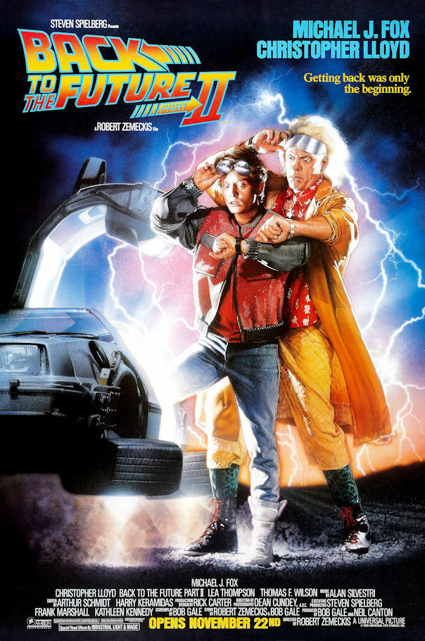 "Back to the Future 2 ( 11"" x 17"" ) Movie Collector's ..."