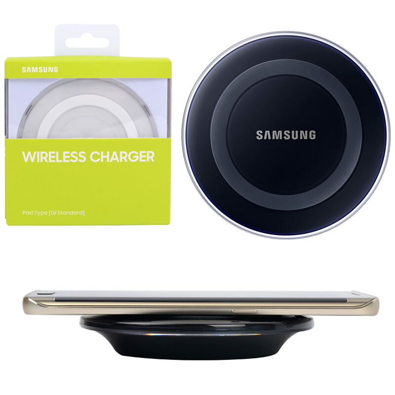 original qi wireless charger charging pad ep pg920 for samsung galaxy s6 s6 edge ebay. Black Bedroom Furniture Sets. Home Design Ideas
