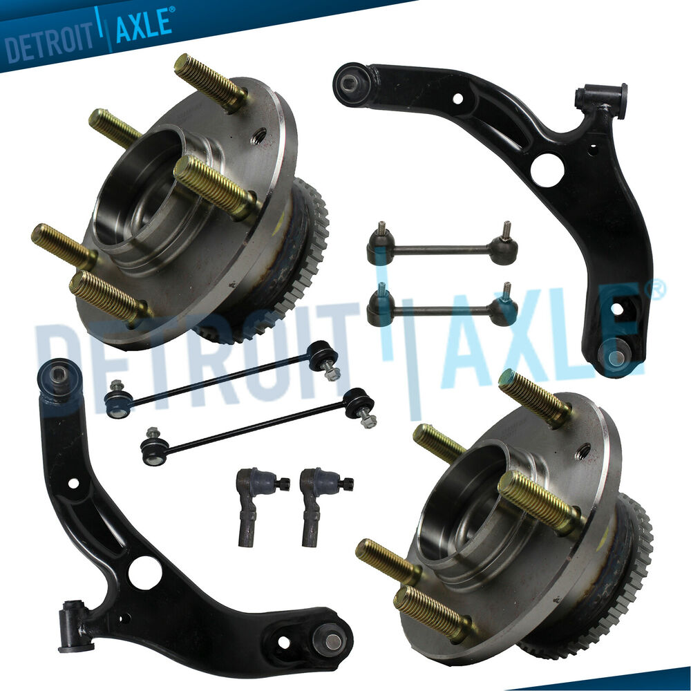 Brand New 12pc Front Suspension Kit For 1994 1999 Toyota: Brand New 10pc Complete Front And Rear Suspension Kit For