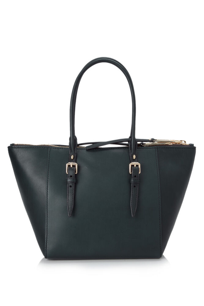 NWT Burberry Bag 100% Authentic Green Leather Saddle ...