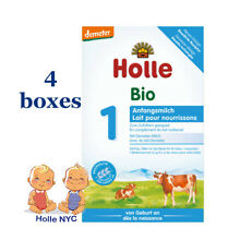 Holle Stage 1 Organic infant powder Formula, 0-6 months 4 boxes, 400g, 10/2019