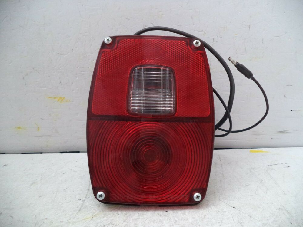 Tail Light Lens Assembly : Ford pickup stop tail light lamp assembly glo brite