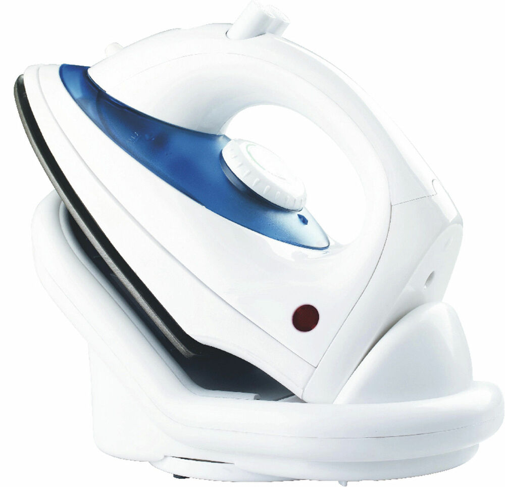 1800 Electric Iron ~ Durable w cordless electric steam iron travel non