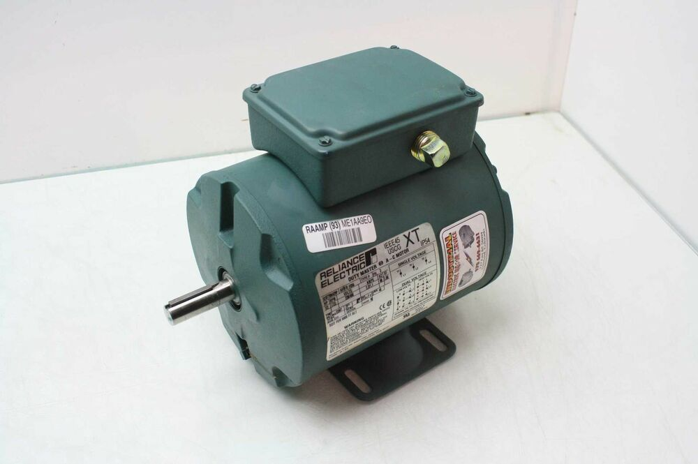 Reliance electric b77b0429p 1 2 hp ac motor 3 phase 230 for Dc motor 1 3 hp