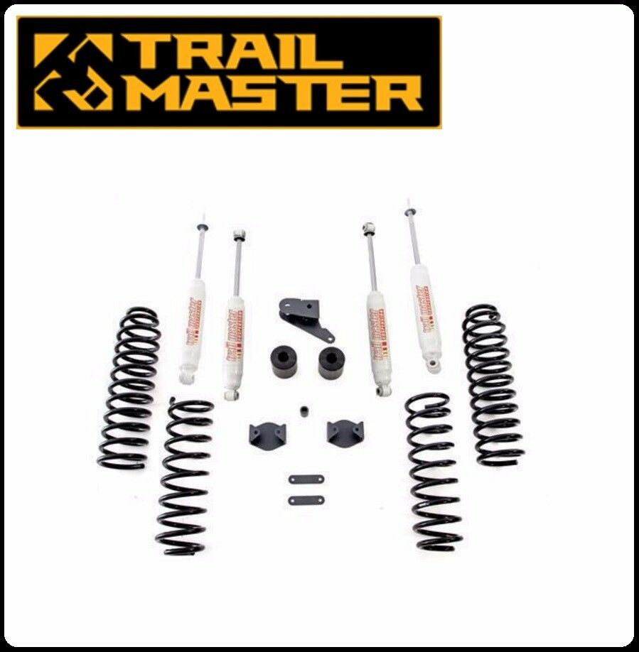 Trail Master 3 0 Inch Lift Kit W Shocks For 07 16 Jeep Jk