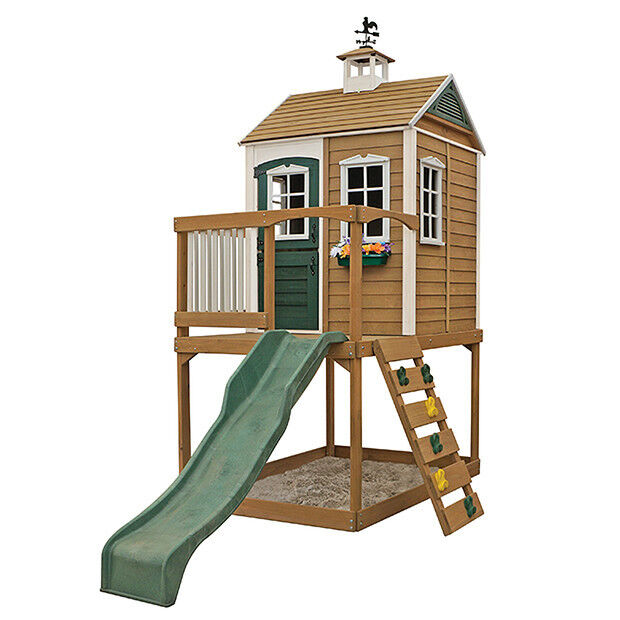 Outdoor Toys Boys Age 10 : New big backyard clubhouse queensland wooden for boys and