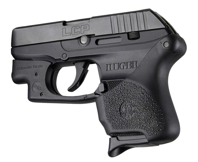 Hogue Handall Hybrid Ruger LCP CT Grip Sleeve-Black-18110 | eBay