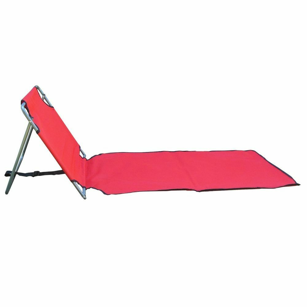 Portable Folding Lounge Chair Beach Patio Pool Yard