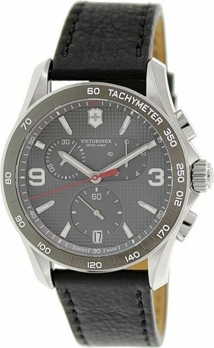 New Victorinox Swiss Army XLS Classic Grey Chronograph Men ...