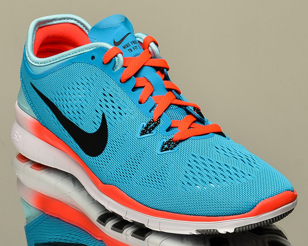 4f22e2daad7 Details about Nike WMNS Free 5.0 TR Fit 5 V training shoes blue Last size 5