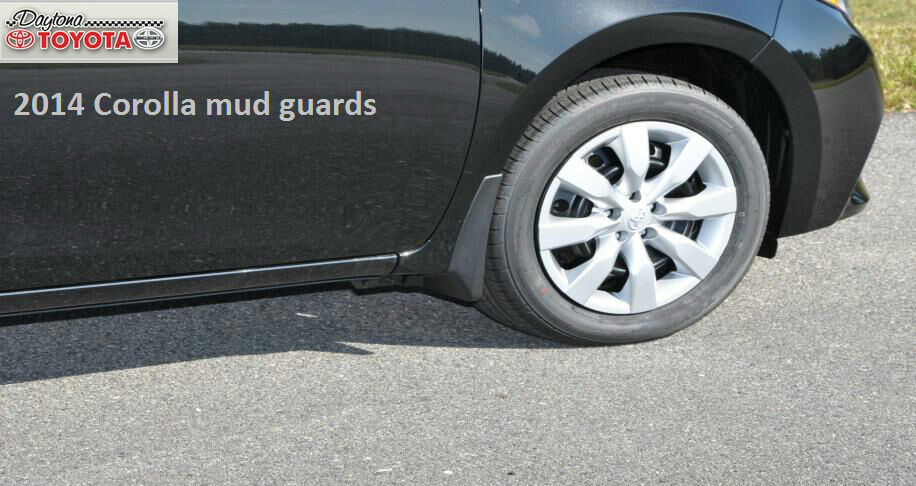2014 2016 southeast toyota corolla mudguards mud flaps. Black Bedroom Furniture Sets. Home Design Ideas