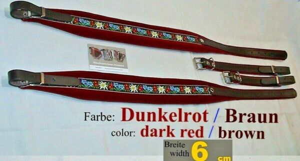 6 cm Akkordeongurte,Riemen,Bretelles,correas acordeon,Accordion Straps,Folk D.R.