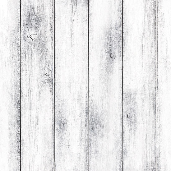 Contact Paper White Wash Wood Decorative Wallpaper