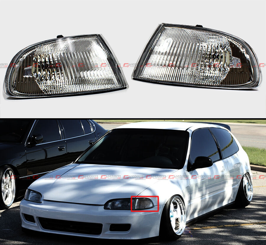 92 95 honda civic coupe hatchback eg9 jdm vision clear. Black Bedroom Furniture Sets. Home Design Ideas