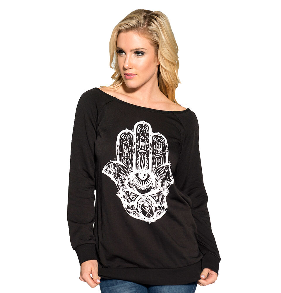 Cleo S Clothing: Sullen Angels Clothing Womens Black Cleo Hamsa Open Back