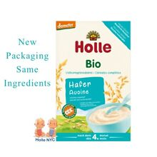 Holle Organic Rolled Oatmeal Porridge Baby Cereal 250g FREE SHIPPING
