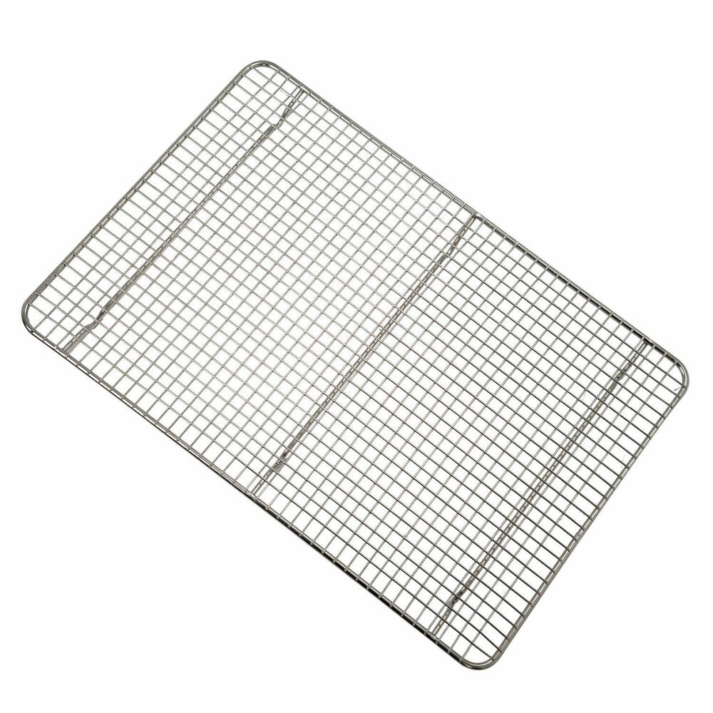 Chrome Steel 1 2 Size Sheet Pan Cross Wire Grate Cooling