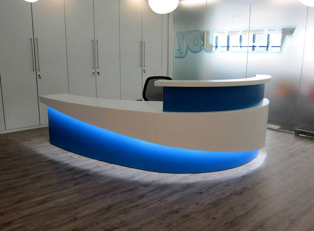 Reception Desk Accent Lighting Remote Control Led Kit