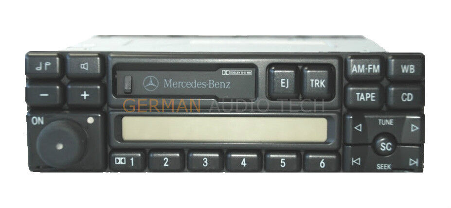 Mercedes radio stereo cassette 1995 1996 1997 1998 r129 for Mercedes benz stereo