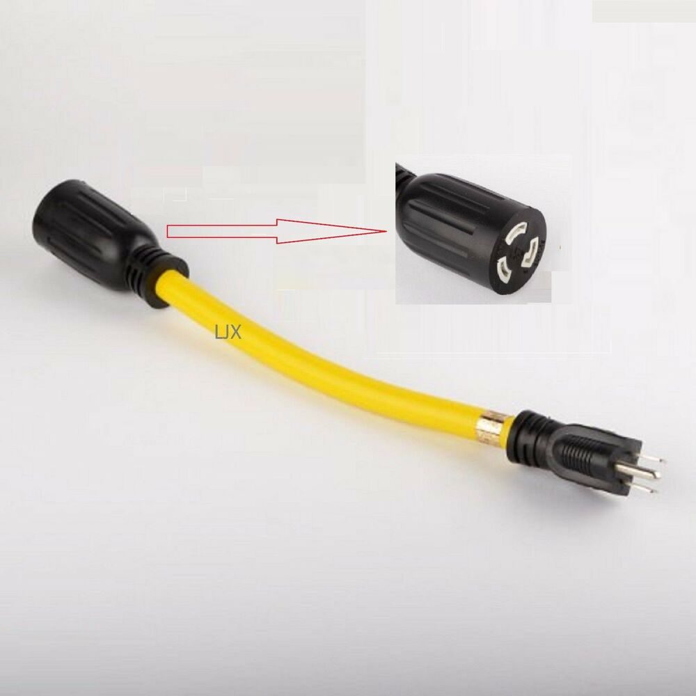 12 Quot 12 Ga Pigtail Tool Power Cord Extension Adapter Twist