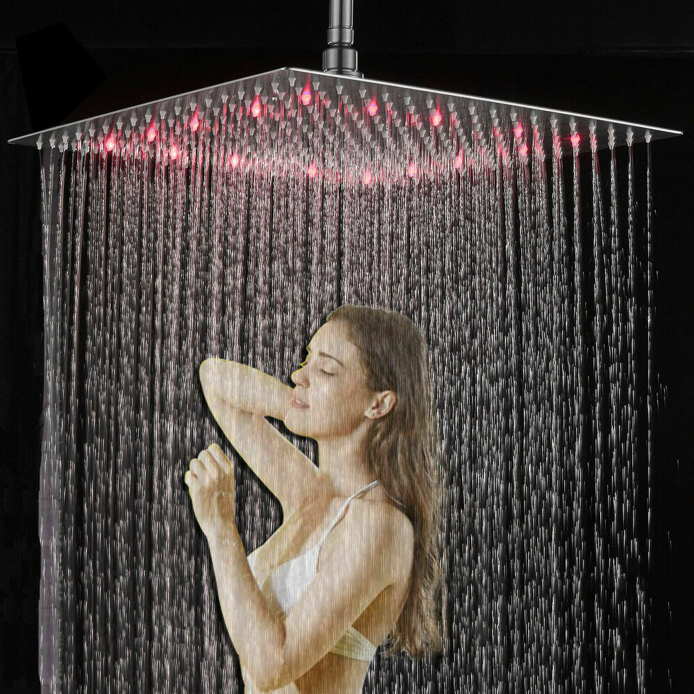 New Wall Mounted Oil Rubbed Bronze Square Rain Shower Head