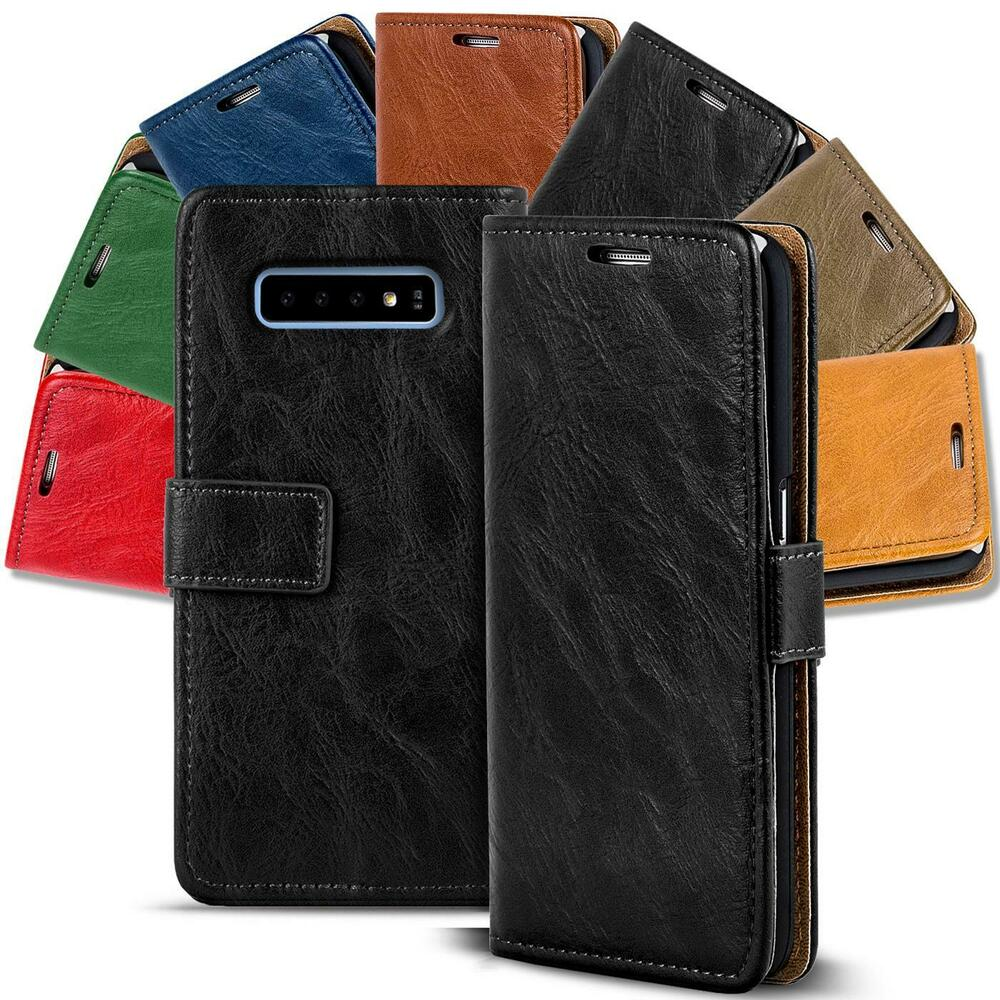 handy tasche f r samsung galaxy premium flip cover case schutz h lle wallet etui ebay. Black Bedroom Furniture Sets. Home Design Ideas