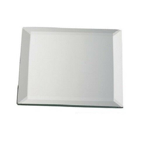 Biedermann sons decorative 4 inch square mirror plate for Square mirror