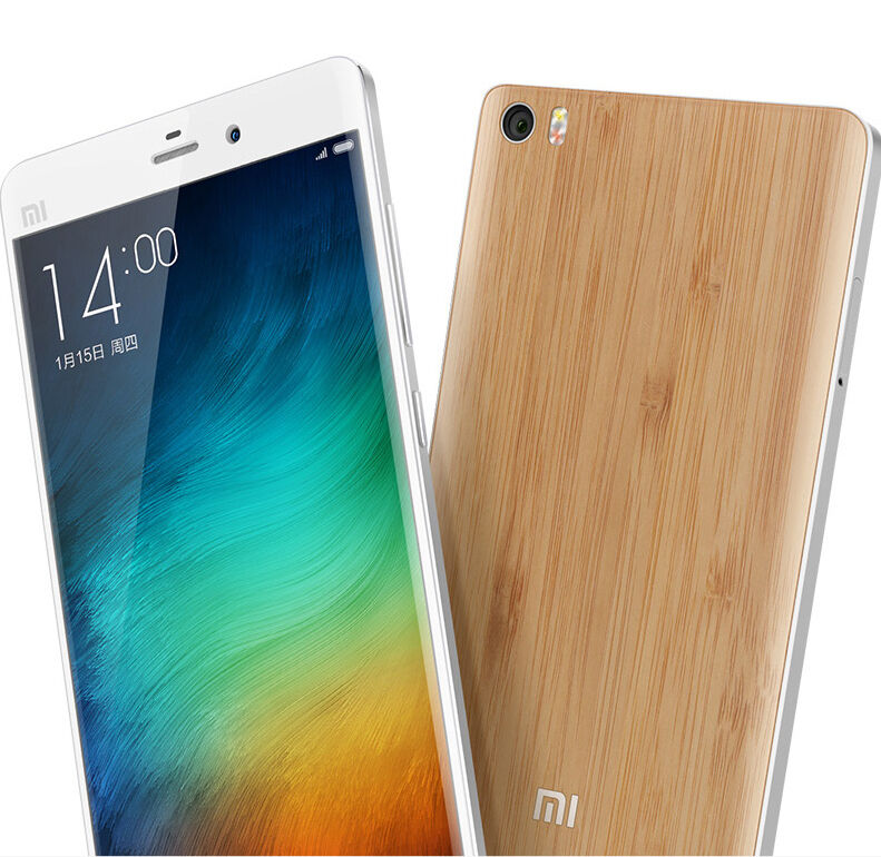 Original Wood Bamboo Case Back Battery Cover Replacement for Xiaomi Mi ...