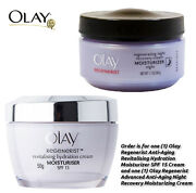2-Piece Olay Set: Olay Regenerist Anti-Aging Moisturizing Day + Night Recovery Cream $18.99 with free shipping