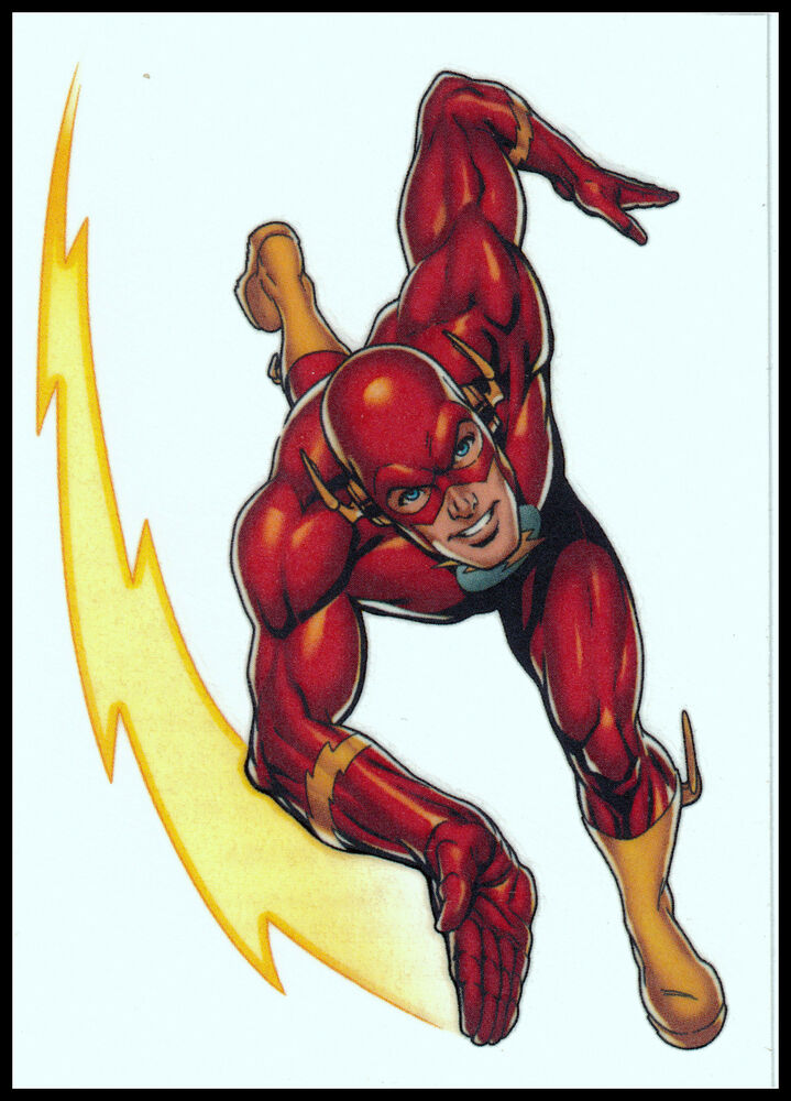 The Flash Lightning Bolt Temporary Tattoodc Comics Super Hero Ebay