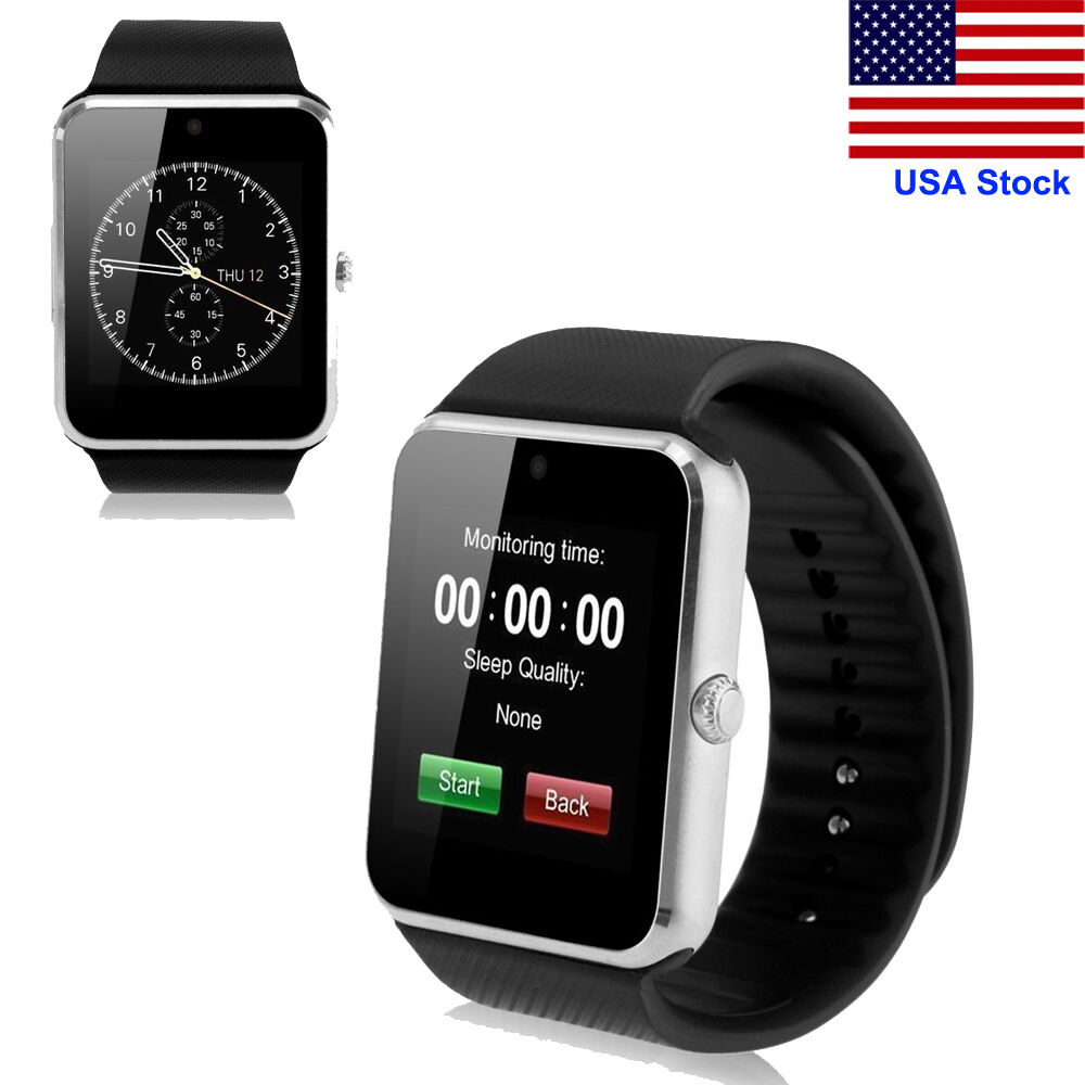 GT08 Bluetooth Smart Watch Phone Mate Step Counter for IOS ...