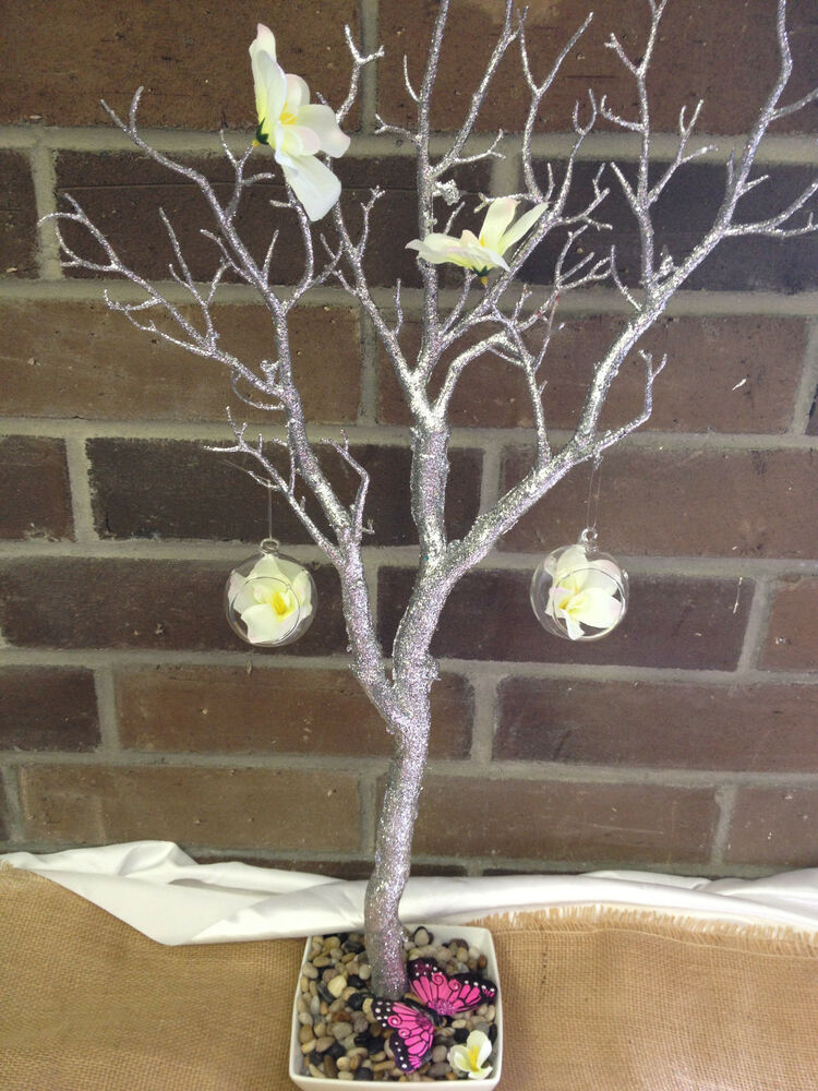 Christmas Centerpieces For Sale : Christmas sale quot glitter manzanita tree branches party