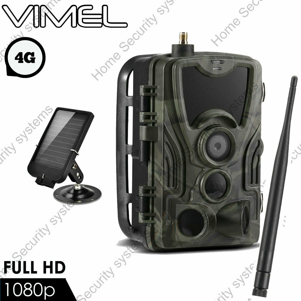 3g security trail camera 32gb wireless solar gsm mms home. Black Bedroom Furniture Sets. Home Design Ideas