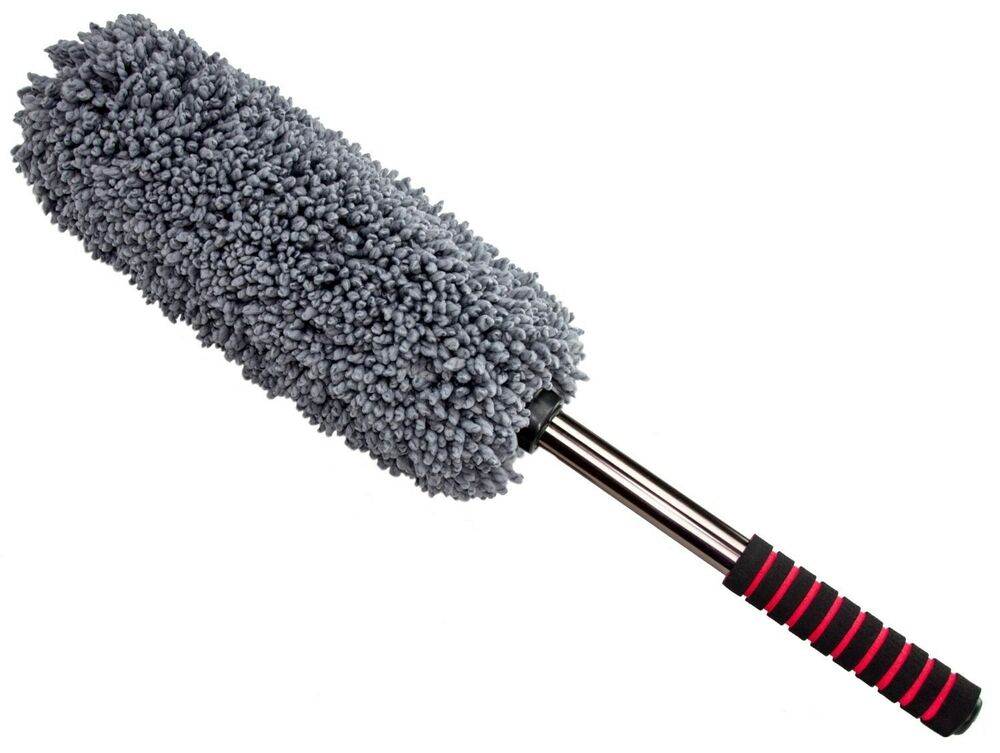 ultimate car duster the best microfiber multipurpose duster exterior or i ebay. Black Bedroom Furniture Sets. Home Design Ideas