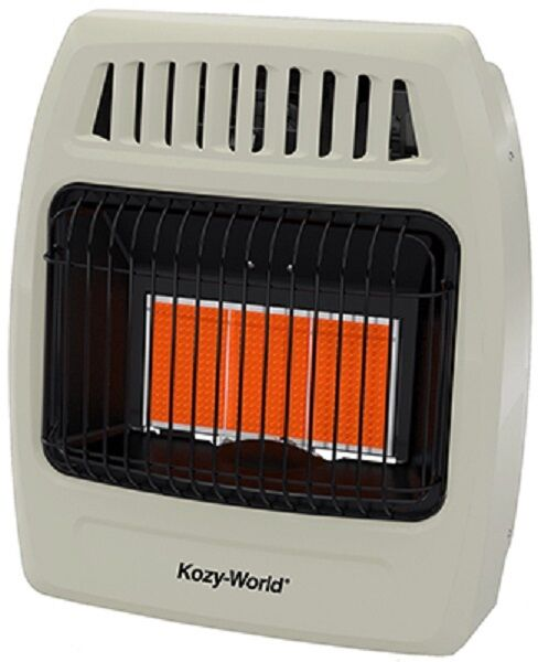 Kozy World KWN391 18K NATURAL GAS Infrared Vent Free Wall