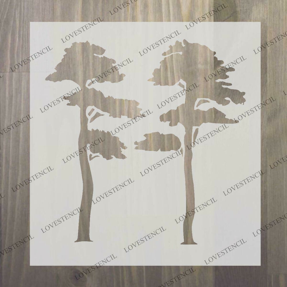 Influential image for printable tree stencils
