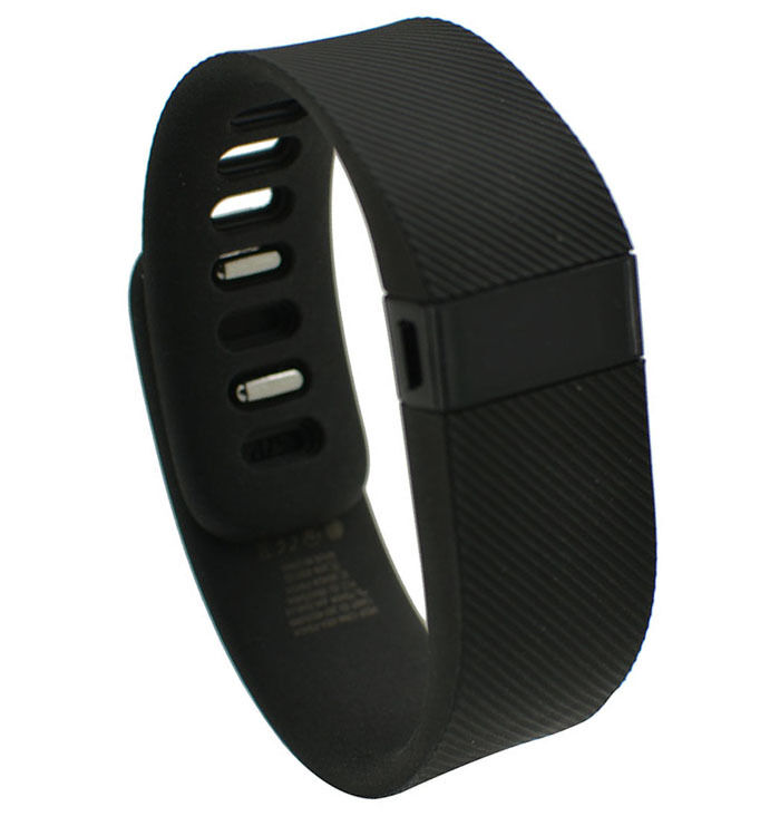 fitbit charge wristband fitness activity tracker black ebay. Black Bedroom Furniture Sets. Home Design Ideas