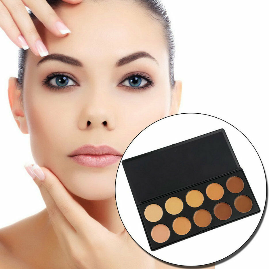 Pro 10 Color Camouflage Concealer Palette Eye Face Cosmetic Makeup Cream Di Ebay