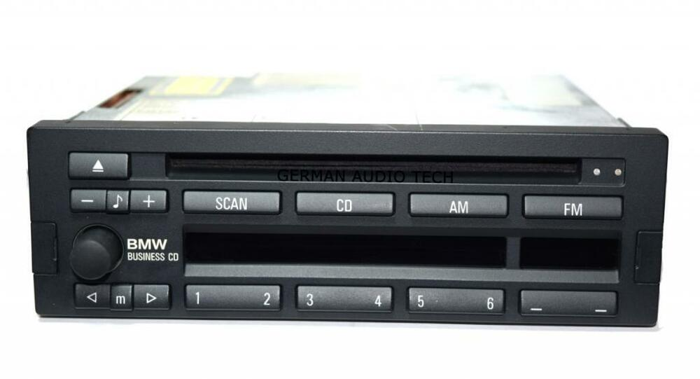 Bmw Business Cd Player Am Fm Cd43 Radio Stereo E31 E34 E36 E38 328 740 840 M3 Z3 Ebay