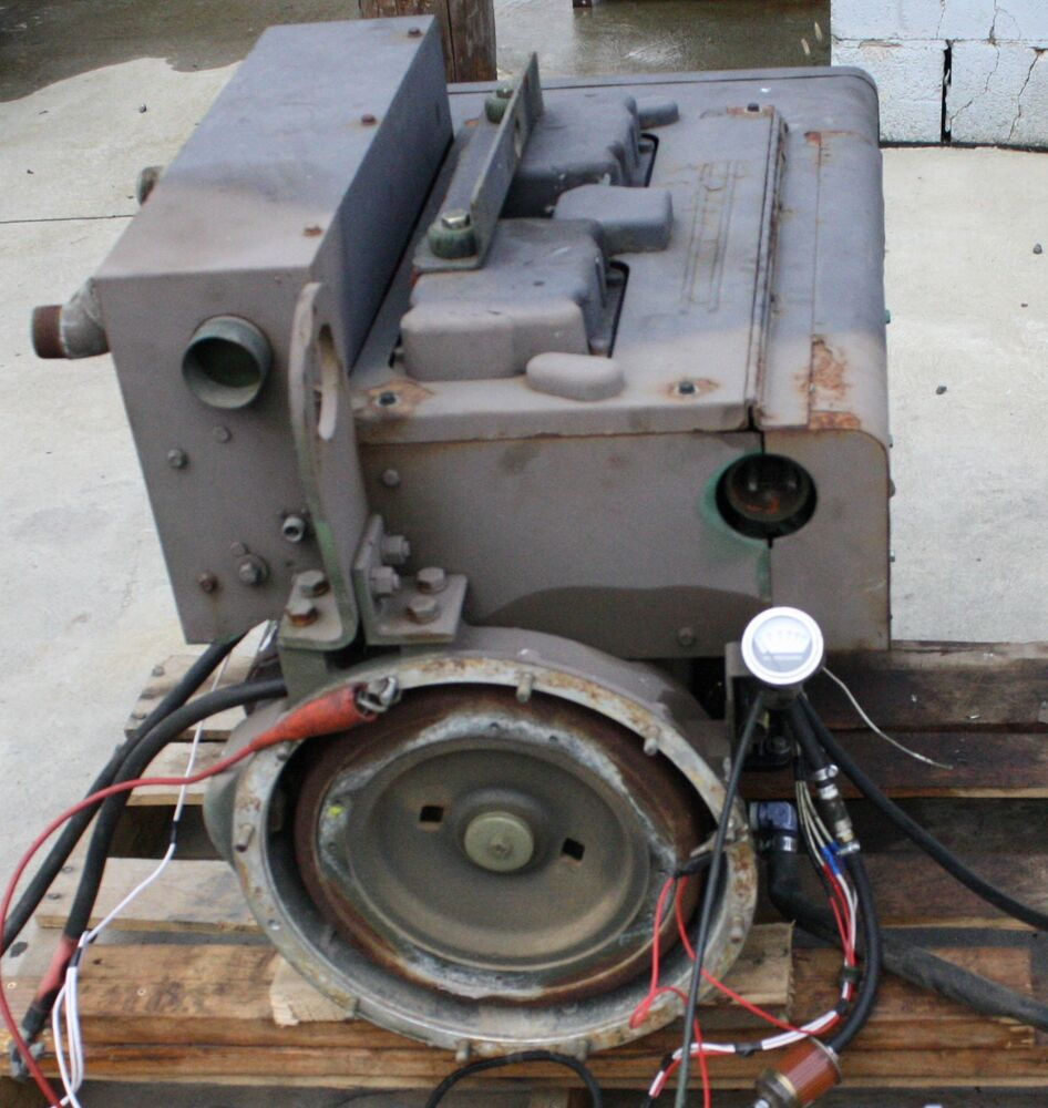 Onan Military Surplus 4 Cylinder Diesel Engine Fits Mep