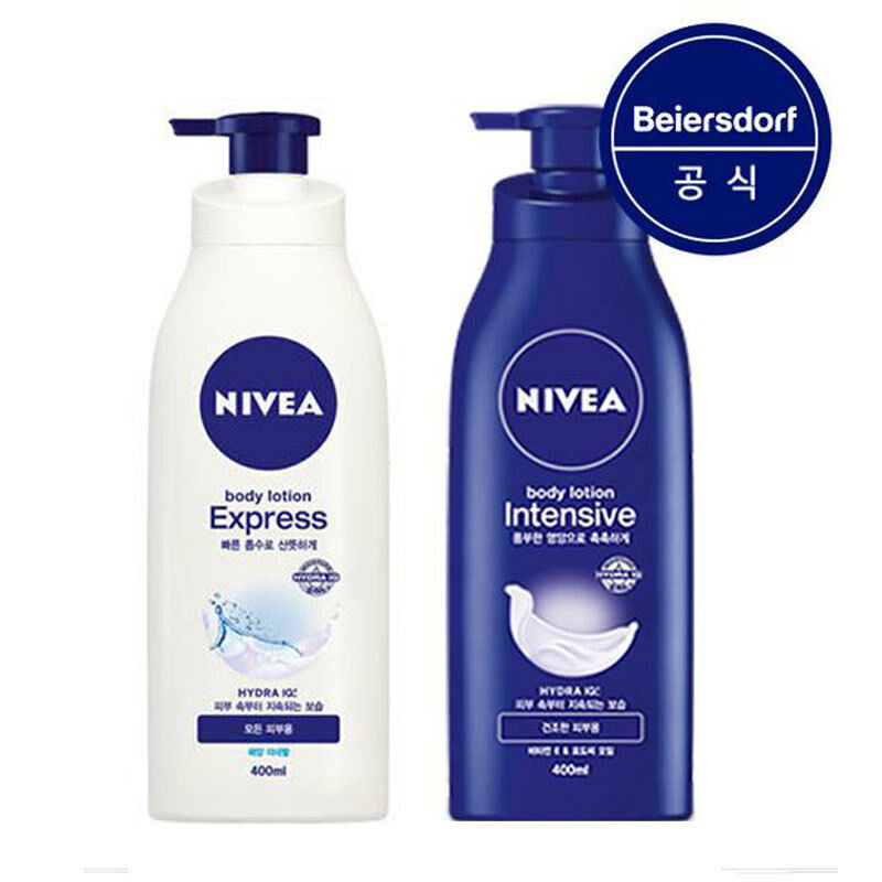 nivea body lotion 400ml express with sea minerals for all. Black Bedroom Furniture Sets. Home Design Ideas